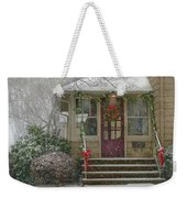 Winter - Dreaming Of A White Christmas Weekender Tote Bag