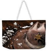 Winter Duty Weekender Tote Bag