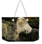 Winter Eagle Weekender Tote Bag
