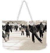 Winter Exercise Weekender Tote Bag