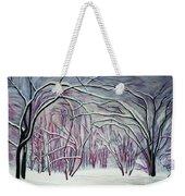 Winter Fairies Weekender Tote Bag