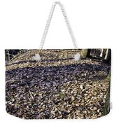 Winter Fall On The Trail Weekender Tote Bag