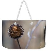 Winter Flower Weekender Tote Bag