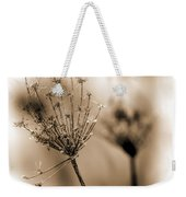 Winter Flowers II Weekender Tote Bag
