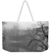 Winter Fog Weekender Tote Bag by Bob Orsillo