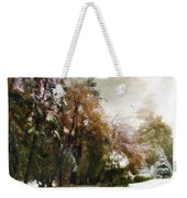 Winter Foliage Weekender Tote Bag