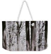 Winter Forest 1 Weekender Tote Bag by Heiko Koehrer-Wagner