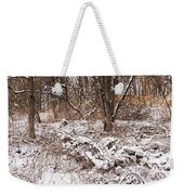 Winter Forest Panorama Weekender Tote Bag