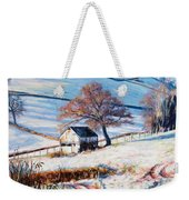 Winter Frost Weekender Tote Bag by Tilly Willis