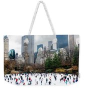 Winter Fun Weekender Tote Bag