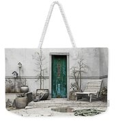 Winter Garden Weekender Tote Bag by Cynthia Decker