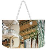 Winter Garden Weekender Tote Bag