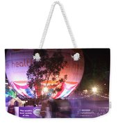 Winter Gardens Ice Rink And Balloon Bournemouth Weekender Tote Bag