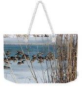 Winter Geese - 04 Weekender Tote Bag