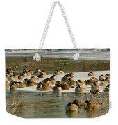 Winter Geese - 06 Weekender Tote Bag