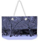 Winter Geese Retreat Weekender Tote Bag