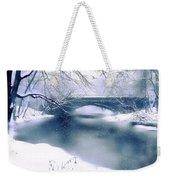 Winter Haiku Weekender Tote Bag