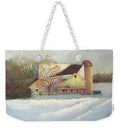 Winter Hush Weekender Tote Bag