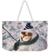 Winter - I'm Ready For My Closeup Weekender Tote Bag by Mike Savad