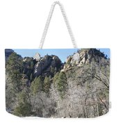 Winter In Arizona Weekender Tote Bag