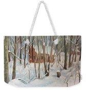 Winter In Campton New Hampshire Weekender Tote Bag