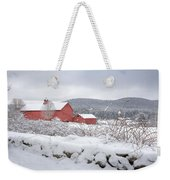 Winter In Connecticut Weekender Tote Bag by Bill Wakeley
