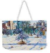 Winter In Lourmarin Weekender Tote Bag