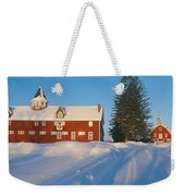 Winter In New England, Mountain View Weekender Tote Bag