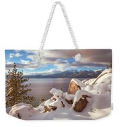 Winter In Tahoe Weekender Tote Bag