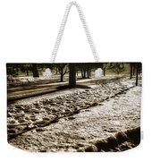 Winter In The Berkshires Weekender Tote Bag