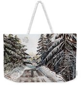 Winter In The Boons Weekender Tote Bag by Shana Rowe Jackson