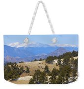 Winter In The Pike National Forest Weekender Tote Bag