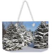 Winter In The Pines Weekender Tote Bag