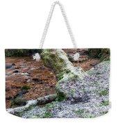 Winter In The Woods Weekender Tote Bag