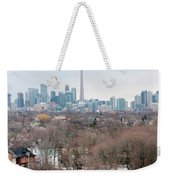 Winter In Toronto Weekender Tote Bag