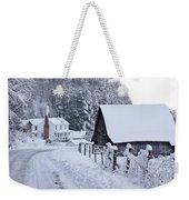 Winter In Virginia Weekender Tote Bag by Benanne Stiens