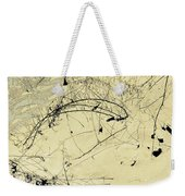 Winter Ink Weekender Tote Bag