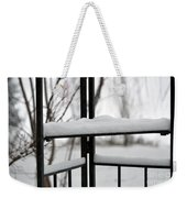 Winter Ironwork Weekender Tote Bag