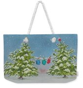 Winter Is Fun Weekender Tote Bag
