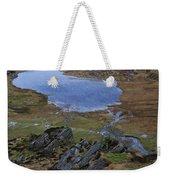 Winter Landscape Detail North Wales Weekender Tote Bag