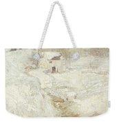 Winter Landscape Weekender Tote Bag by John Henry Twachtman