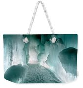 Winter Lit Weekender Tote Bag