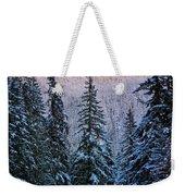 Winter Lodging Weekender Tote Bag