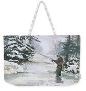 Winter Magic Weekender Tote Bag