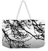 Winter Magnolia Weekender Tote Bag