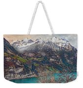 Winter Meets Spring Weekender Tote Bag
