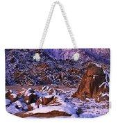 Winter Morning Alabama Hills And Eastern Sierras Weekender Tote Bag