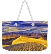 Winter Morning At Death Valley Weekender Tote Bag
