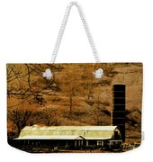 Winter Morning At The Cattle Farm Weekender Tote Bag