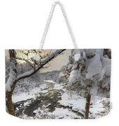 Winter Morning Weekender Tote Bag by Bill Wakeley
